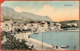 MAKARSKA - Ophod Na Stogodišnjicu Zavjeta Srcu Isusovu  ( Croatia ) * Travelled 1917. To Imotski * Censure Spalato - Croatia