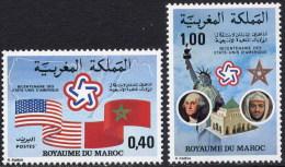 Maroc 0763/764 ** Serie Completa. 1976 - Morocco (1956-...)