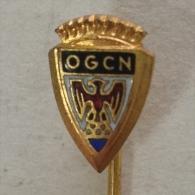 Badge Pin ZN000861 - Football Soccer Calcio - France Olympique Gymnaste Club De Nice - Voetbal