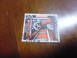 TIMBRE ALLEMAGNE FEDERALE  OBLITERE   YVERT N°144 - Used Stamps