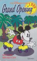 Télécarte Japon DISNEY STORE GO / 110-181158 - MICKEY Patin Patinage Skating - Myazaki 1996 Japan Phonecard / 4000 - Disney