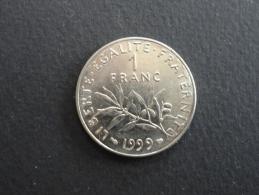 1999 - 1 Franc Semeuse - France