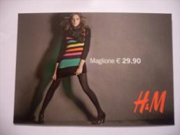 CARTOLINA PROMOCARD N.8212 H&M MODA - Moda
