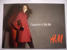CARTOLINA PROMOCARD N.8209 H&M MODA - Moda
