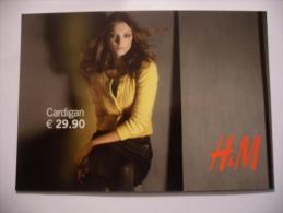 CARTOLINA PROMOCARD N.8208 H&M MODA - Moda