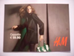 CARTOLINA PROMOCARD N.8207 H&M MODA - Moda