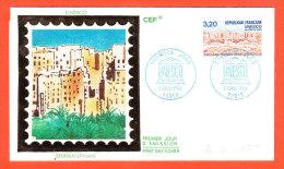 France UNESCO _ 1990 _ N° 102 Et 103 _ Deux Enveloppes 1er Jour - Lettres & Documents