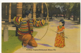 Tir  Arc Archery Crossbow  Indian Chief Sam Willis Tropical Hobbyland Teaching Archery - Tir à L'Arc