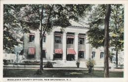 C1900 MIDDLESEX COUNTY OFFICES NEW BRUNSWICK - Nouveau-Brunswick