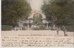 AUTRICHE WIEN ROMISCHE RUINE SCHONBRUNN BELLE CARTE RARE !!! - Château De Schönbrunn