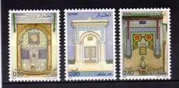 """ALGERIE  1984  MNH   -  """" ARTISANAT - FONTAINES Du VIEIL  ALGER """" -   3  VAL - Algérie (1962-...)"""