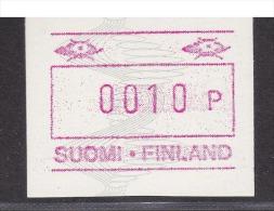 ATM: Finland 1990 Mi.7 - Mint/**  (M1-20) - ATM - Frama (labels)