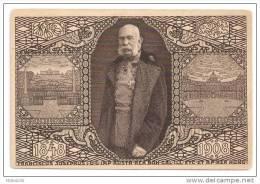 Austria ÖSTERREICH 1908 Postal Card Illustrated Jubilaums Karte Unused Kaiser Franz Joseph - Stamped Stationery