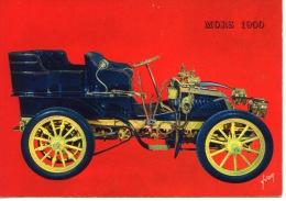 Mors 1900 Carrosserie Tonneau LI 10cv 4 Cyl - Coll Teuf Teuf Yvon N°23 - Turismo