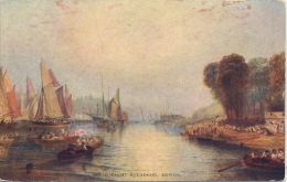 IOW - COWES - ROYAL YACHT SQUADRON - ART CARD - Cowes