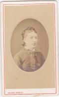 CDV - Femme ( Marie Dubrun ) - Maison Rideau - Cherbourg - Fin 1800 - Début 1900 - Personnes Identifiées
