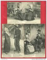 CPA N°8223 / LOT DE 3 CARTES DU PERIGORD - COSTUMES ET COIFFES - Non Classés
