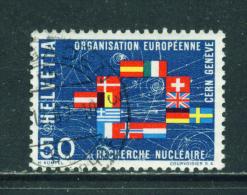 SWITZERLAND - 1966  CERN  50c  Used As Scan - Switzerland