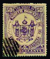 BORNEO Ivert 25 Obliterado - North Borneo (...-1963)