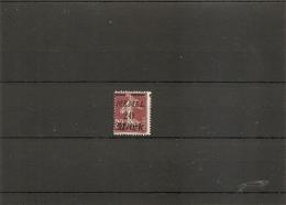 Memel ( 80 X -MH- Surcharge à Cheval à Voir)