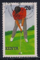Kenya ~ 1995 ~ Golf ~ SG 644 ~ Used - Kenia (1963-...)