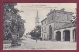 31 - 020114 - VILLENEUVE LES CUGNAUX - L'église Et La Halle - Frankreich