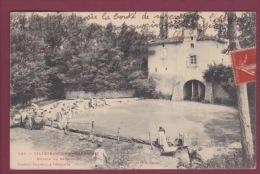 31 - 020114 - VILLEFRANCHE DE LAURAGAIS - Moulin De Barrelles - Lavandière - Frankrijk