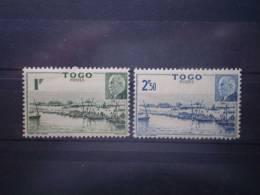 Togo 1941 Yvert  215/6 ** MNH - Nuovi