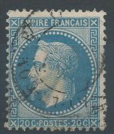 Lot N°23932   Variété/n°29, Oblit Cachet à Date A Déchiffrer, Légende 20C POSTES 20C - 1863-1870 Napoleon III With Laurels