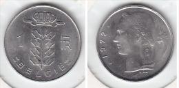 1 FRANC Nickel Baudouin I 1972 FL - 04. 1 Franc