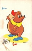 """¤¤  -  WALT-DISNEY  -  Publicité """" TOBLER """"  -  Le Raton  """" GUS """"  -  ¤¤ - Disney"""