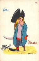 """¤¤  -  WALT-DISNEY  -  Publicité """" TOBLER """"  -   """"  Pirate """"  -  ¤¤ - Disney"""