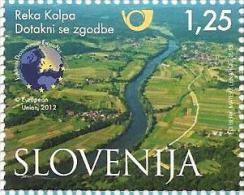 SI 2013-0999 RIVER KOLPA, SLOVENIA, 1 X 1v, MNH - Umweltschutz Und Klima