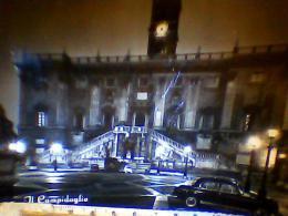 ROMA  CAMPIDOGLIO  NOTTE  AUTO  CAR  VB1961   EI3654 - Roma