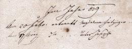 Altes Dokument Aus Eggenburg, NÖ. - 1838 - Vieux Papiers