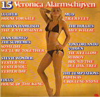* LP *  15 VERONICA ALARMSCHIJVEN - VARIOUS ARTISTS (Holland 1975) - Compilaties