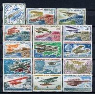 Monaco 1964. Yvert 637-51 ** MNH. - Non Classificati