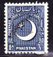 Pakistan, 1949, SG 44, Used, (P 12,5) - Pakistan