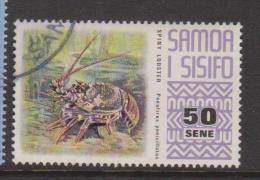 Samoa 1972 Fauna Definitives 50 S Lobster  FU - Samoa