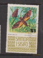 Samoa 1972 Fauna Definitives $1 Hawkmoth FU - Samoa