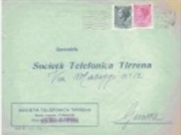Società Telefonica Tirrenia - 1946-60: Poststempel