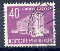 BERLIN 1954 Buildings Definitive 40 Pfg. Used.  Michel 122 - [5] Berlin