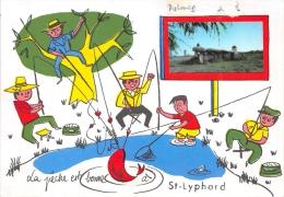 ¤¤  -  SAINT-LYPHARD   -  Le Dolmen  -  Carte Fantaisie   -  ¤¤ - Saint-Lyphard