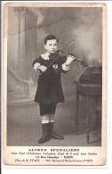 SPEDALIERE A. Petit Chef D'orchestre, Violoniste à 8 Ans - 13 Rue Girardon Paris - élève De M Stahl - Musique Et Musiciens