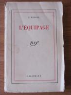 J KESSEL L EQUIPAGE 1942  NRF GALLIMARD - Livres, BD, Revues
