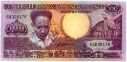 * SURINAME 100 Gulden 01/07/1986  P. 45 UNC Billete Banknote Banconota - Surinam