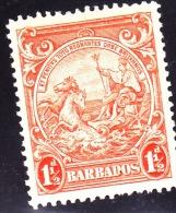 Barbados, 1938, SG 250, MNH (P: 13,5x13) - Barbados (...-1966)