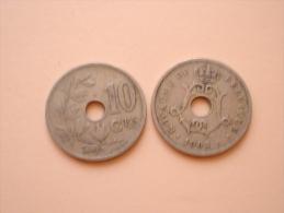 LEOPOLD III 10 Centiem 1943 NL/FR Morin 494 Lot 089 - 1934-1945: Leopold III.