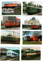 Czech Republic 2003 - Diesel Locomotives, Set Of 18 Pcs, NICE!! - Calendarios