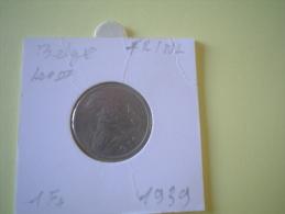LEOPOLD III 1fr 1940 VL/FR Morin 560 Lot 101 - 1945-1951: Regentschaft